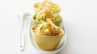 Rosemary Mashed Potato Gratin | 2009 Milk Calendar Recipe