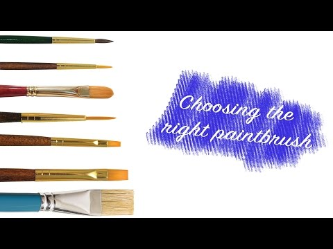 The Essential Guide to Choosing Art Paint Brushes and Their Uses