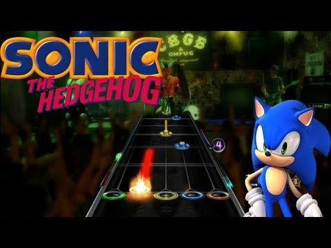 Let's Play Guitar Hero WOR Sonic Songs
