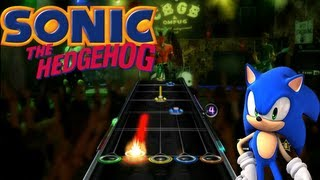 Let's Play Guitar Hero WOR Sonic Songs