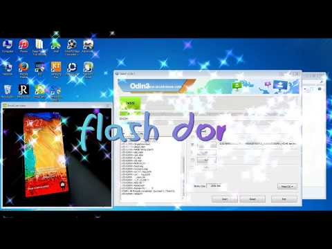 How To Flash Samsung Galaxy Note 3 (SM-N900) (N900s) 100% Done Odin Tool