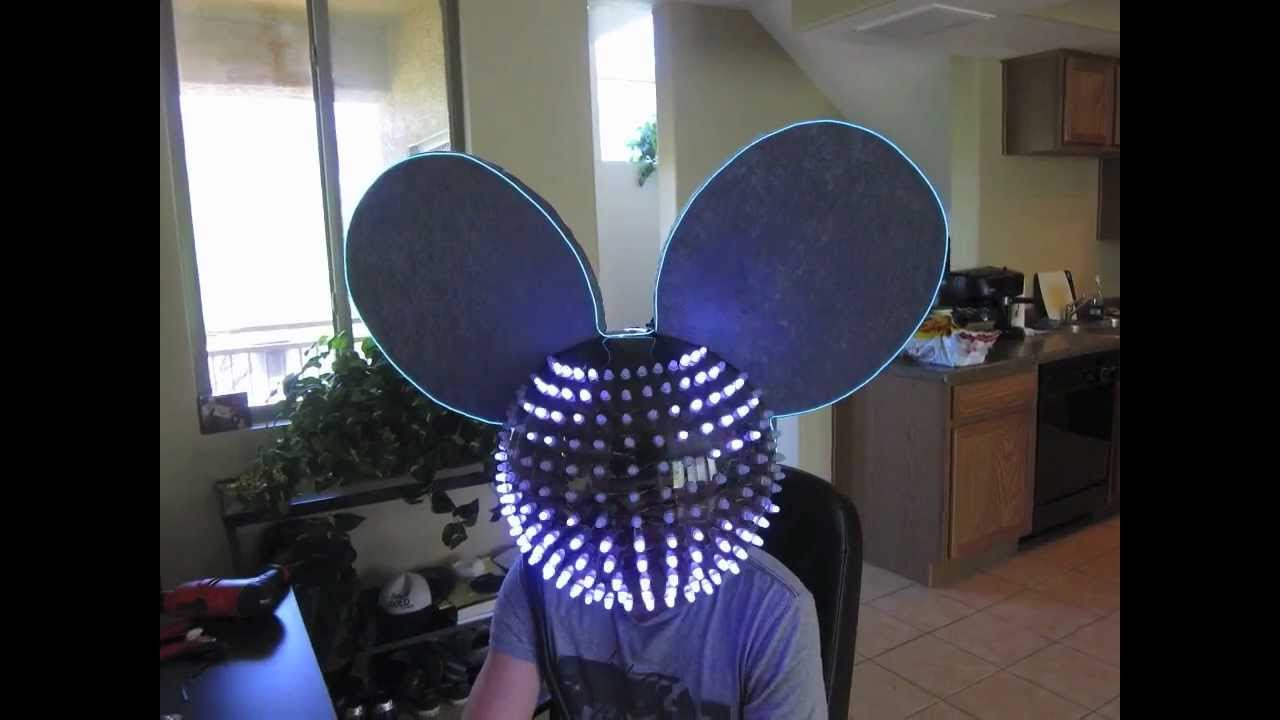 rgb led mouse head from jeffrey nappi for deadmau5 using