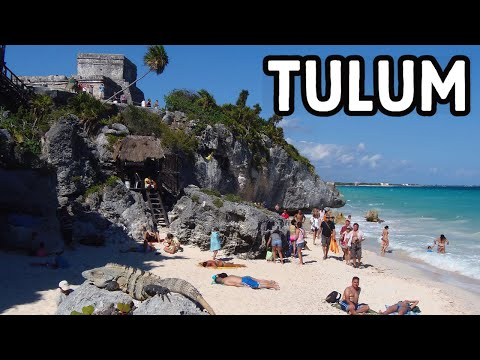 Exploring the Ancient Mayan City of Tulum, Mexico