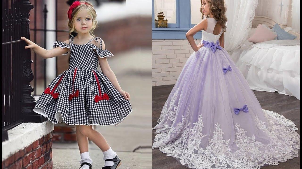7 Детские платья с Алиэкспресс 2020 Aliexpress Children's dresses Модная Детская одежда из Китая