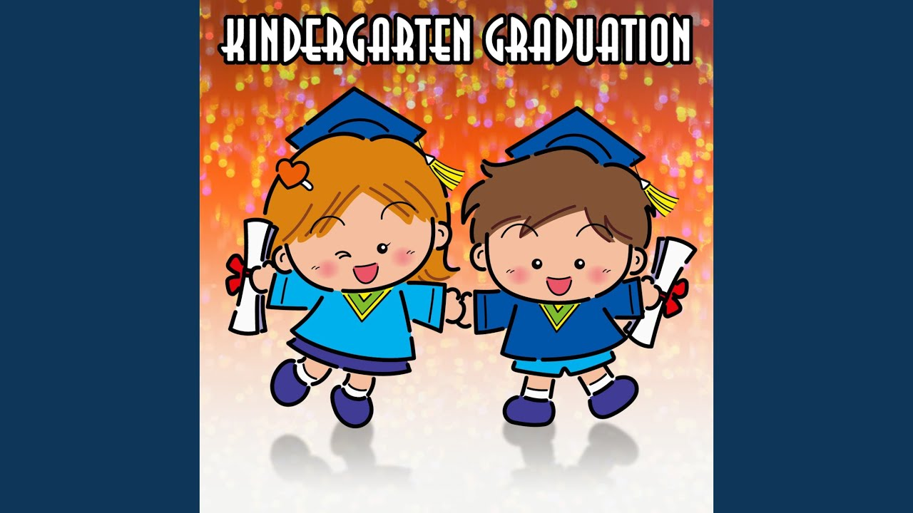 picture relating to Were Moving Up to Kindergarten Printable Lyrics called Commencement Audio for Preschool Kindergarten - Preschool