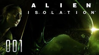 👽 ALIEN ISOLATION [001] [Du kannst dich nicht verstecken] Let's Play Gameplay Deutsch German thumbnail