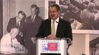 SVSU 50th Anniversary Economic Summit 2013