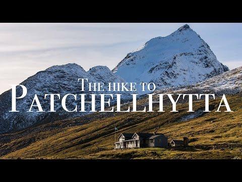 The hike to Patchellhytta