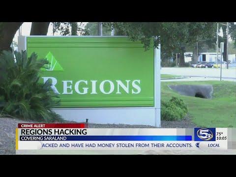 Regions Bank Hacked