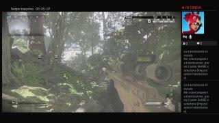 Trasmissione PS4 live di k3kkolif318685 giochiamo a Call of duty Ghost