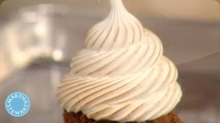 Torched Marshmallow Icing Recipe - Martha Stewart