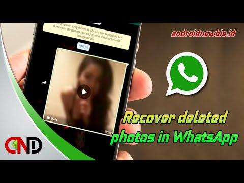 Here's how to restore deleted photos in WhatsApp messenger