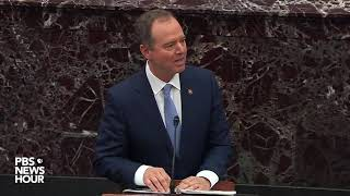 WATCH: Schiff warns U.S. can't expect to ask allies to respect rule of law | Trump impeachment trial