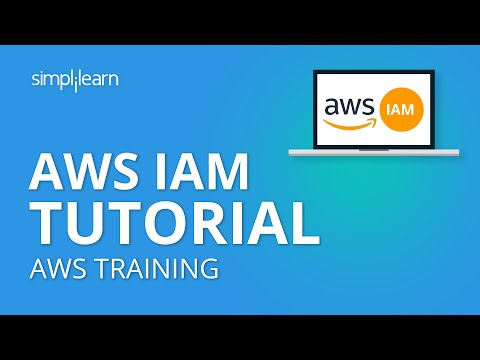 AWS IAM Tutorial | AWS Identity And Access Management | AWS Tutorial | AWS Training | Simplilearn