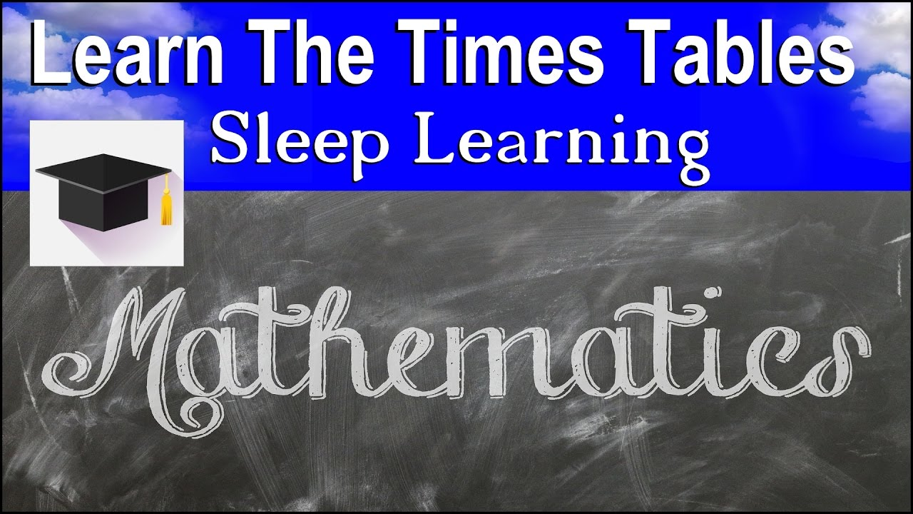 Learn times tables sleep learning maths learn the times learn times tables sleep learning maths learn the times tables binaural beats gamestrikefo Image collections