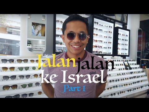 Jalan-jalan Ke Israel Part 1 - Tel Aviv Vlog #16