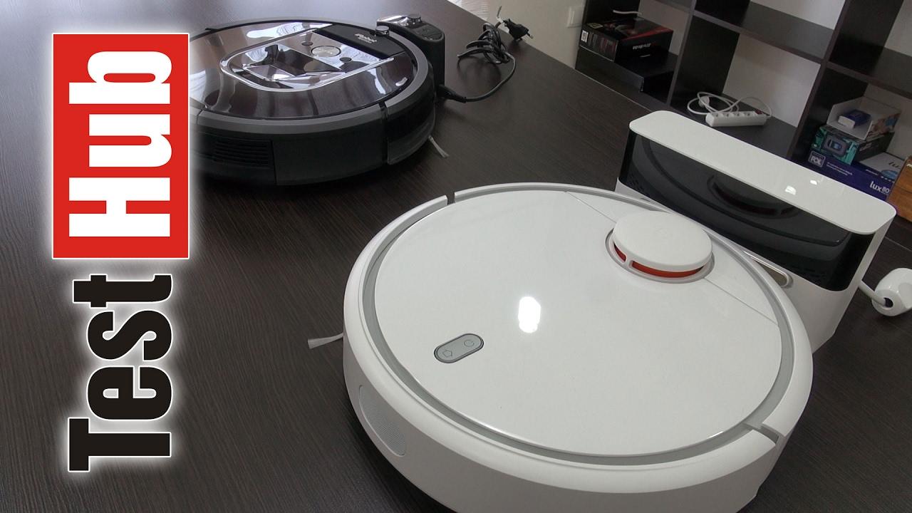 Xiaomi Mi Robot Vacuum Vs Irobot Roomba 980 Porównanie Robotów