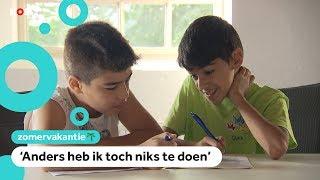 Kinderen leren beter Nederlands op een zomerschool