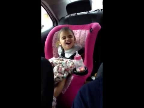 My 2 year old daughter singing Climax lol