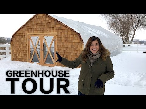Greenhouse/Cold Frame Tour // Garden Answer