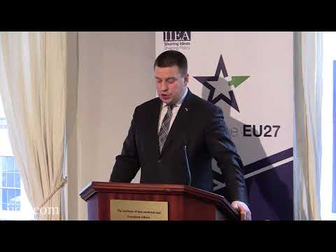 Jüri Ratas - Will Hope and History Rhyme Again for Europe?