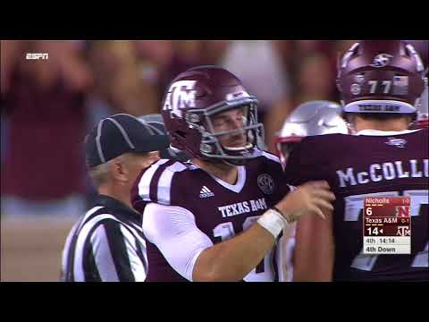 Texas A&M vs Nicholls State NCAA Football Highlights 2017