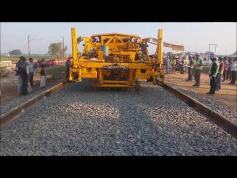 EDFC Mechanized Track Laying