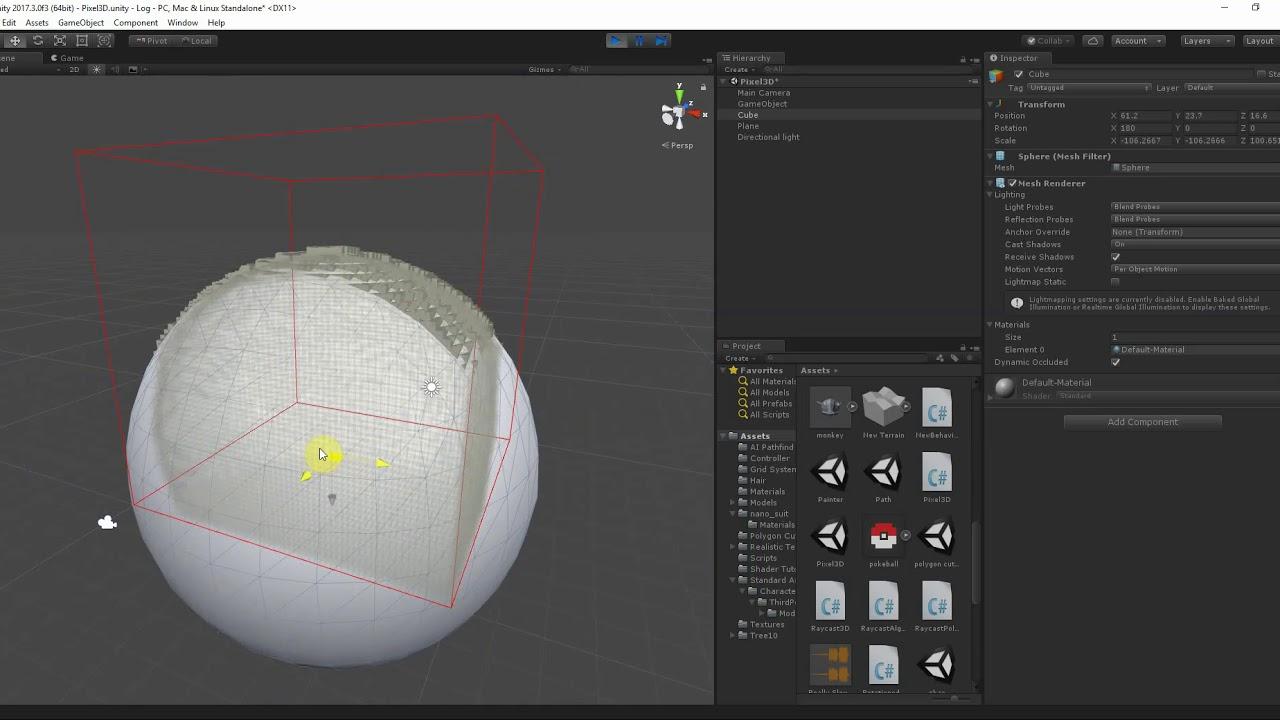 Voxel Cube Rendering (Unity 5)