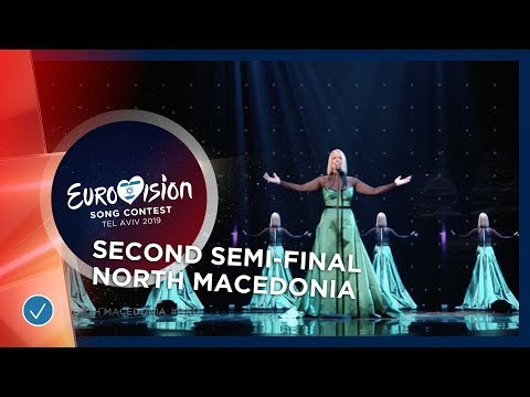 Tamara Todevksa - Proud - North Macedonia - LIVE - Second Semi-Final - Eurovision 2019