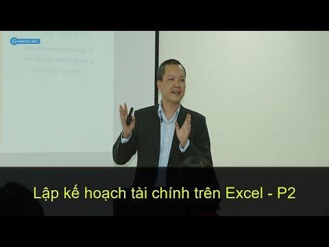 Hướng dẫn lập kế hoạch tài chính kinh doanh & dòng tiền với bộ mẫu kế hoạch tài chính excel - P2