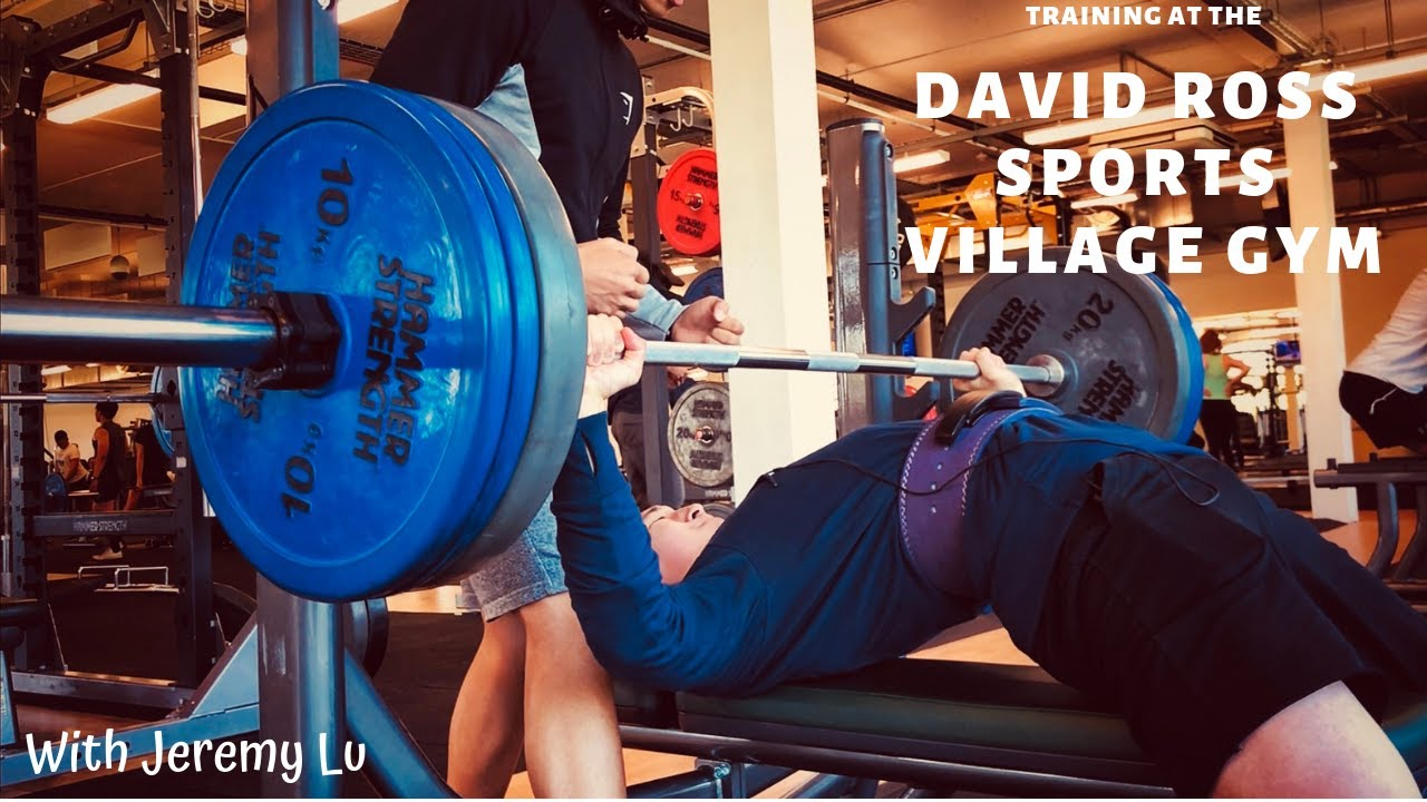 DAVID ROSS SPORTS VILLAGE GYM - Training with Jeremy Lu