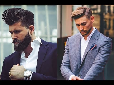 Gentlemen Haircuts Mens New Classy Hairstyles 2018 Youtube
