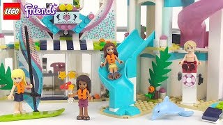 LEGO Friends Heartlake City Resort - Playset 41347 Toy Unboxing & Speed Build