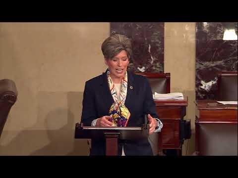Ernst Speaks From Senate Floor on Tax Reform