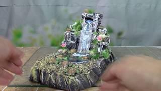 Водопад своими руками / Waterfall with own hands. ХоббиМаркет