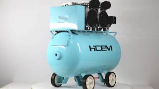 Dental silent air compressor