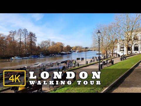 Walking in Richmond, London | The Buccleuch Passage | 4K London Walk