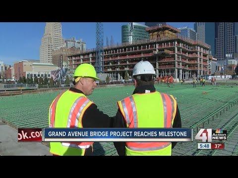 Grand Avenue Bridge project reaches milestone