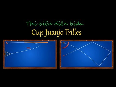 Ai đã từng xem thi đấu bida biểu diễn chưa? Artistic billiards match
