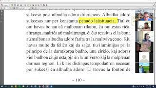 07 | La Sotesana Instruo de Ŭonbulismo | 에스페란토 원불교 대종경 공부(zoom)