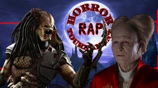 Predator vs Dracula. Horror Rap Tournament. 1/4 финала. 1 из 8