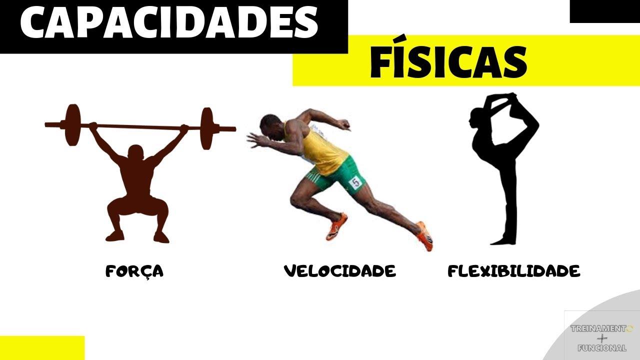 capacidades físicas, atributo treinável, força, velocidade