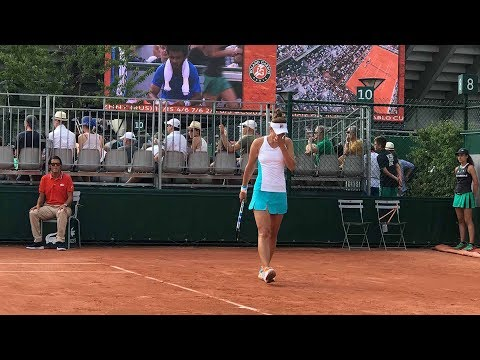 Interviu emotionant cu Irina Begu dupa eliminarea de la Roland Garros