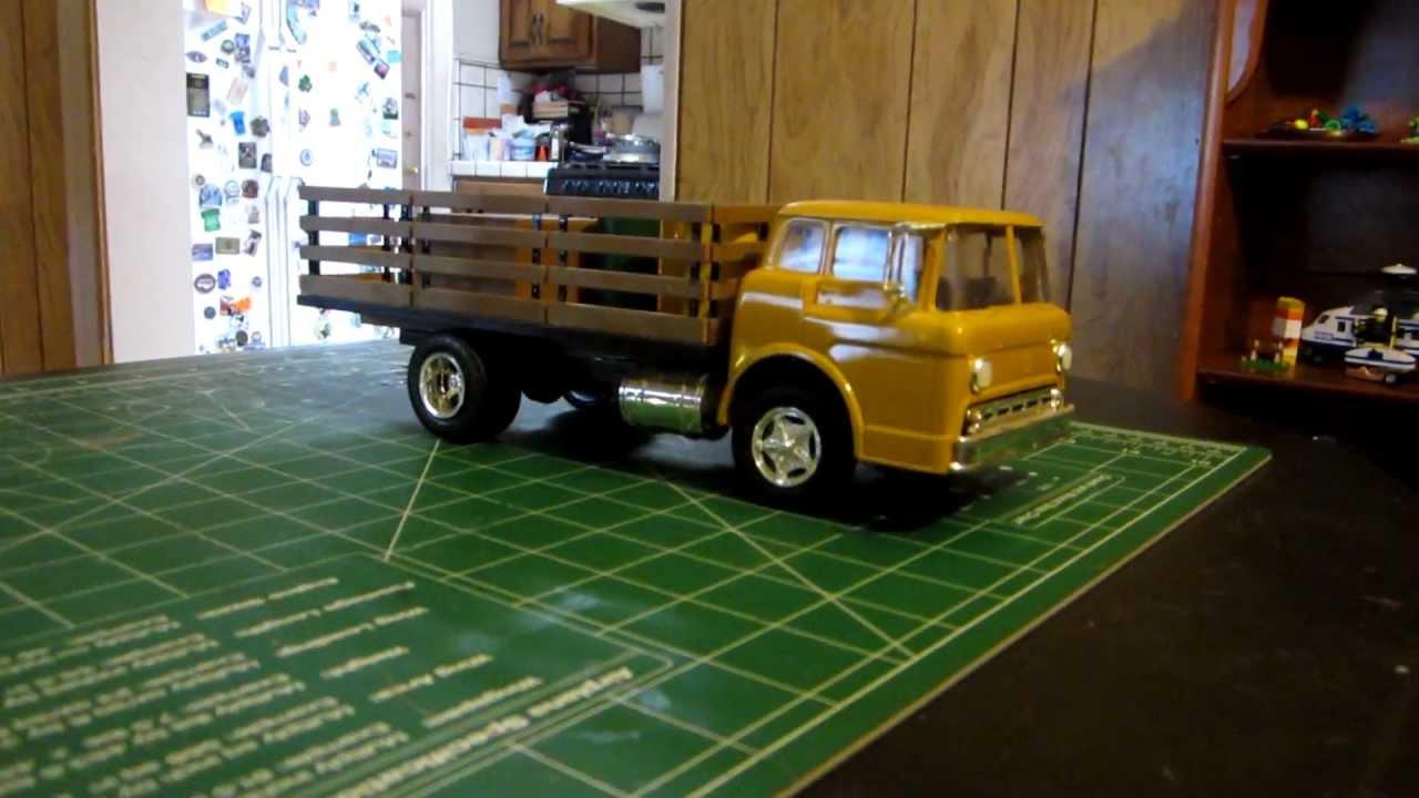 Amt Ertl Ford C 600 Stake Truck Youtube