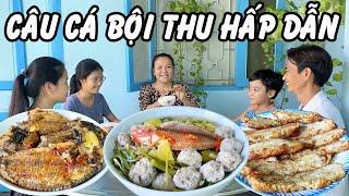 Bữa Ăn Nhiều Món Ngon, Câu Dính Cá Thấy Mê Luôn | THUÝ NHÂN TRÀ VINH #158