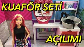Barbie Kuaför Seti Açılımı! - Barbie Ailesi / Türkçe Barbie Videoları İzle