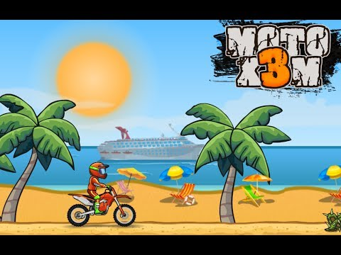 MOTO X3M Bike Racing Gameplay Video Android / iOS | Earning 3 Stars on levels 35 - 45