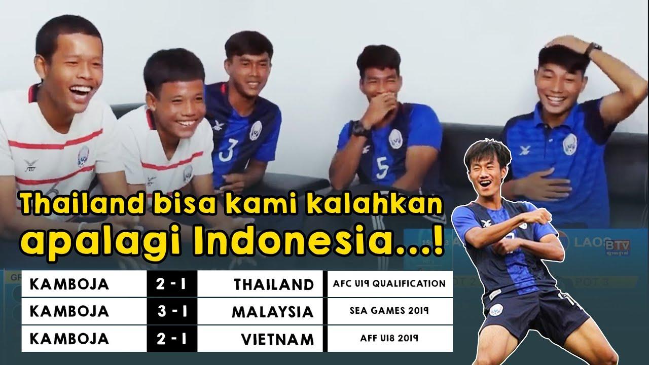 Timnas KAMBOJA Meremehkan Indonesia di Piala AFC U 19 !!!