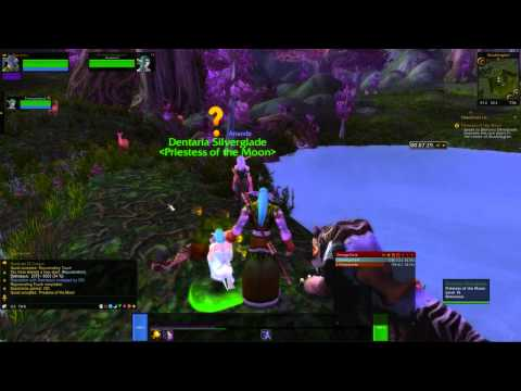 World of Warcraft NightElf Co-Op Part 1 - Stop Breaking The Game