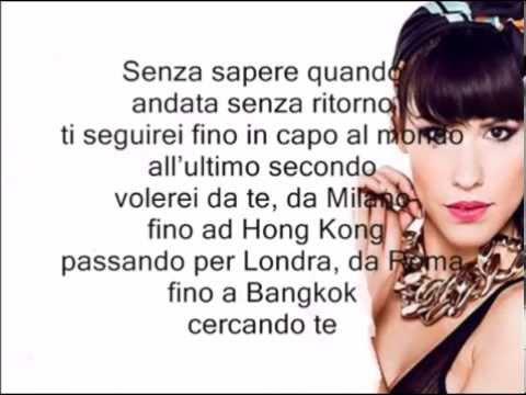 Baby K - Roma Bangkok Feat Giusy Ferreri (Lricsj and Instrumental) Karaoke